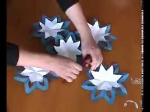 Comment faire une fleur tres simple origami youtube - Comment faire une fleur en origami ...