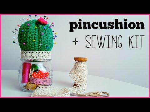 How to crochet CACTUS PINCUSHION ♥ CROCHET LOVERS
