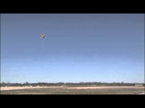 Morpheus Third Free Flight Test at Kennedy Space Center