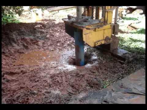 Perforación, Pozo perforado agua pura
