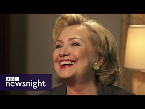 VIDEO: Hillary Clinton on Iraq, Russia and Scottish independence - Newsnight