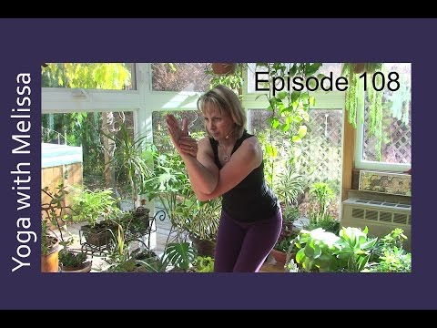 Namaste Yoga 108 Vishnu Series Garudasana/Eagle with Dr. Melissa West - HD Version