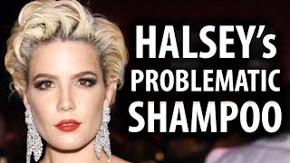 Halsey Says Hotel Shampoo is Problematic