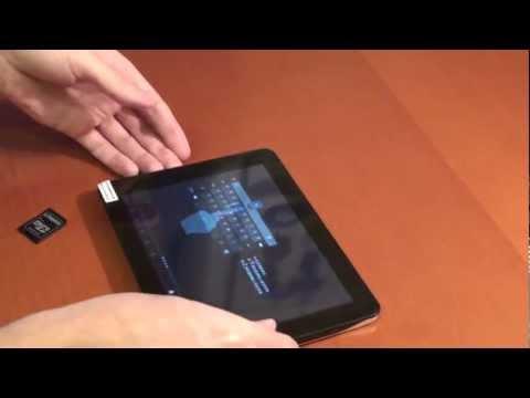 Прошивка планшета с SD карты