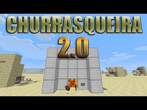 Churrasqueira elétrica 2.0 - Minecraft Tutorial 39.