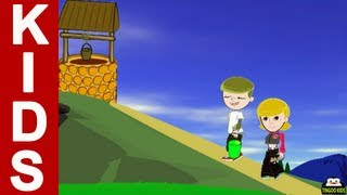 Jack And Jill | Kids Songs & Nursery Rhymes With Lyrics By TingooKids