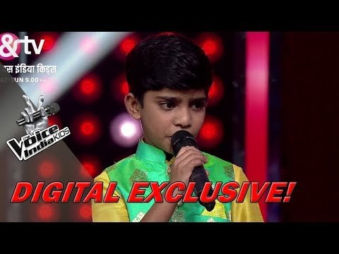 Fazil's Explanation For Not Wearing An Underwear | Moment | The Voice India Kids - Season 2