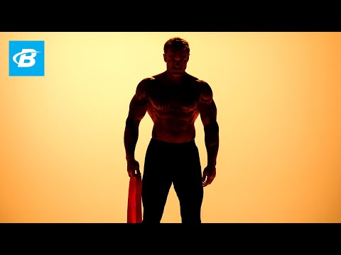 How to Train Chest with Resistance Bands | James Grage