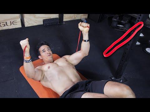 18 meilleurs exercices avec un élastique !