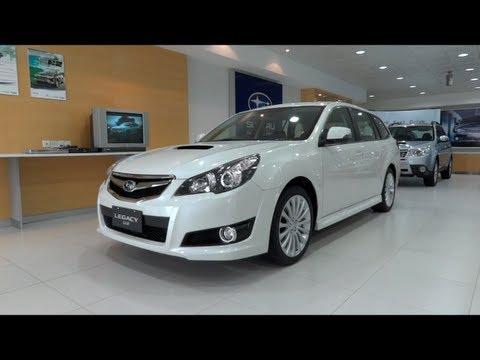 2012 Subaru Legacy 2.5GT Wagon AWD Start-Up and Full Vehicle Tour