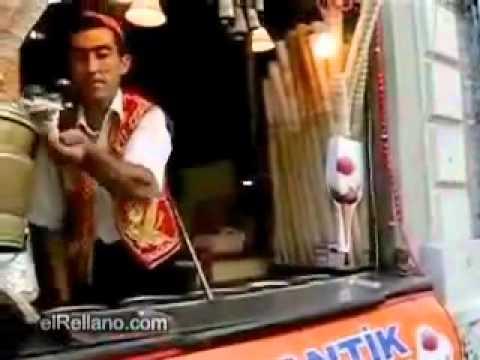 Funny Icecream Parlour Icecream Serving Trick