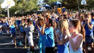 Kid's Flashmob Tijeras Creek Elementary BullyWeek
