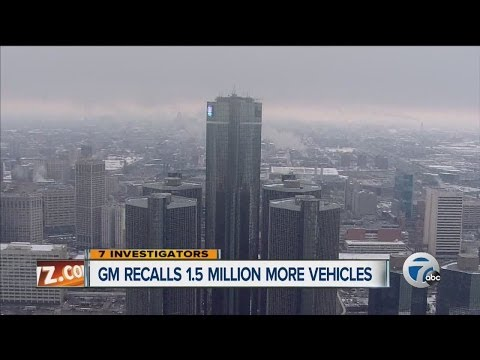 General Motors recalls 1.5 million more vehicles