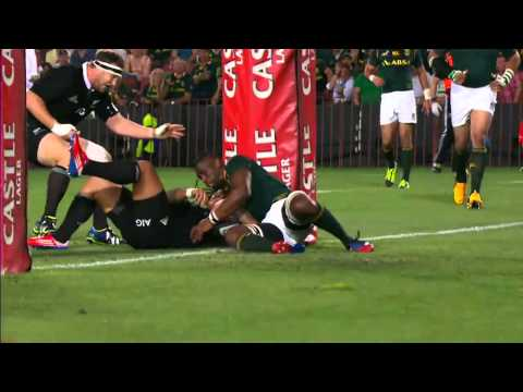 Springboks vs All Blacks Rd.6 | Rugby Championship Highlights 2013