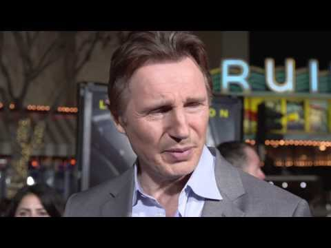 Non-Stop: Liam Neeson Movie Premiere Interview