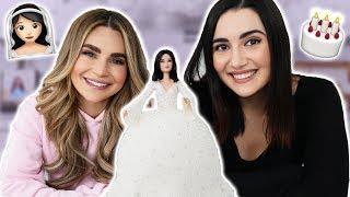 Making A Wedding Dress Cake w/ Safiya Nygaard!