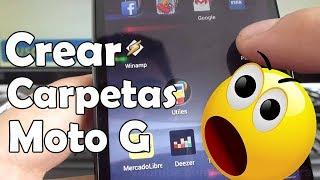 Como Crear Carpetas En Android Motorola Moto G XT1032 En