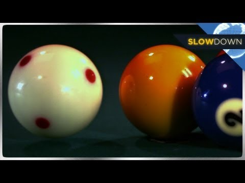 Amazing Billiard Shots in SLOW MOTION!