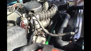 1995 Ford F-250 4X4 Serpentine Belt Replacement