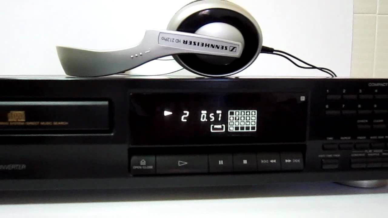 Old sony cd players