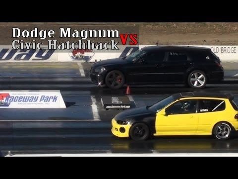 Civic Hatchback vs Dodge Magnum