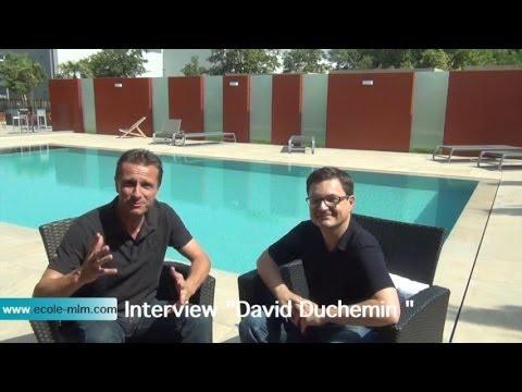 Ecole MLM interview David Duchemin