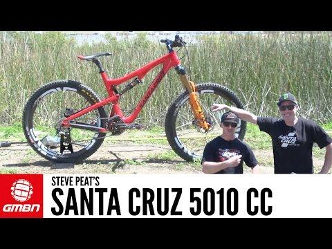 Steve Peat's 5010 CC Santa Cruz Dual Slalom Bike   GMBN Pro Bikes