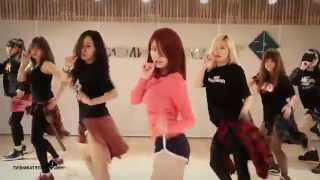 ซ้อมเต้น เพลง Good-night Kiss: Jun Hyoseong (Secret)