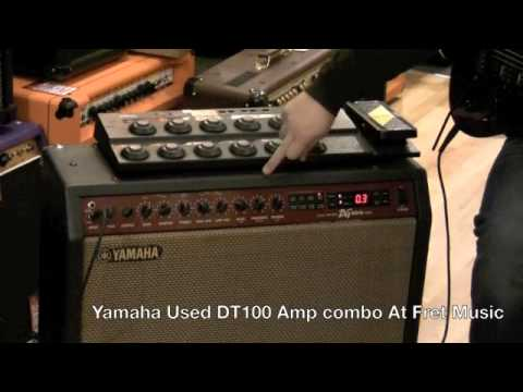 Yamaha Used DG100 212 Amp combo At Fret Music