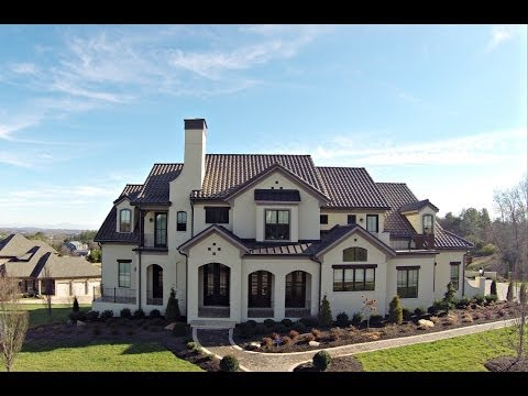 "Knoxville Luxury Home ""Sogni Tuscani"" Built By Brookwood Construction"