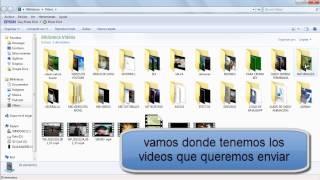 Como Mandar Videos De Tu Biblioteca Del Pc Por Whatsapp