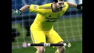 Real Madrid Vs Bayer Munich Penaltis Pes 2012