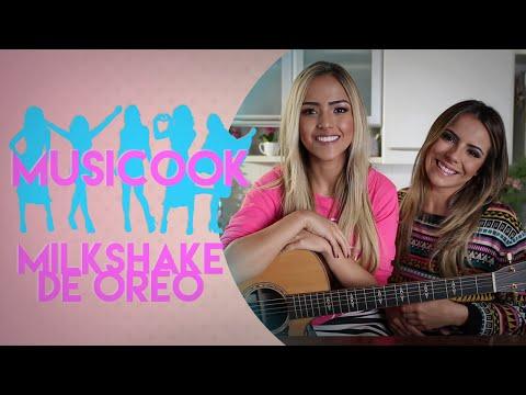 MILKSHAKE DE OREO | Musicook com Gabi Luthai e Raissa Machado