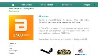 Como Comprar Riot Points RP De Graça No League Of Legends
