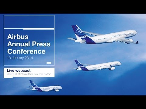 Annual Airbus press conference 2014