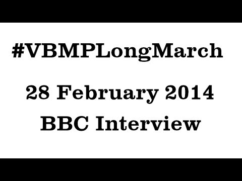 BBC Interview of Mama Qadeer Baloch | 28-02-2014