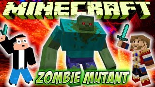 Fanta Bob Mods : Fight Vs ZOMBIE MUTANT ! Minecraft Mod