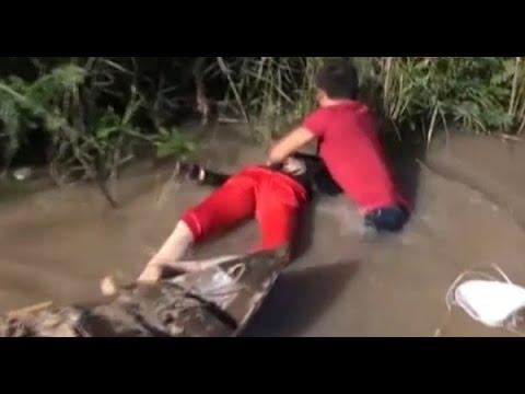 Clip: Thực nghiệm vụ hiếp dâm xác chết dã man ở biên giới