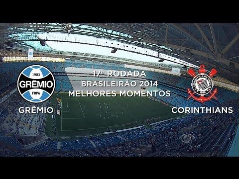 Assistir Melhores Momentos Grêmio 2 x 1 Corinthians 24-08-14