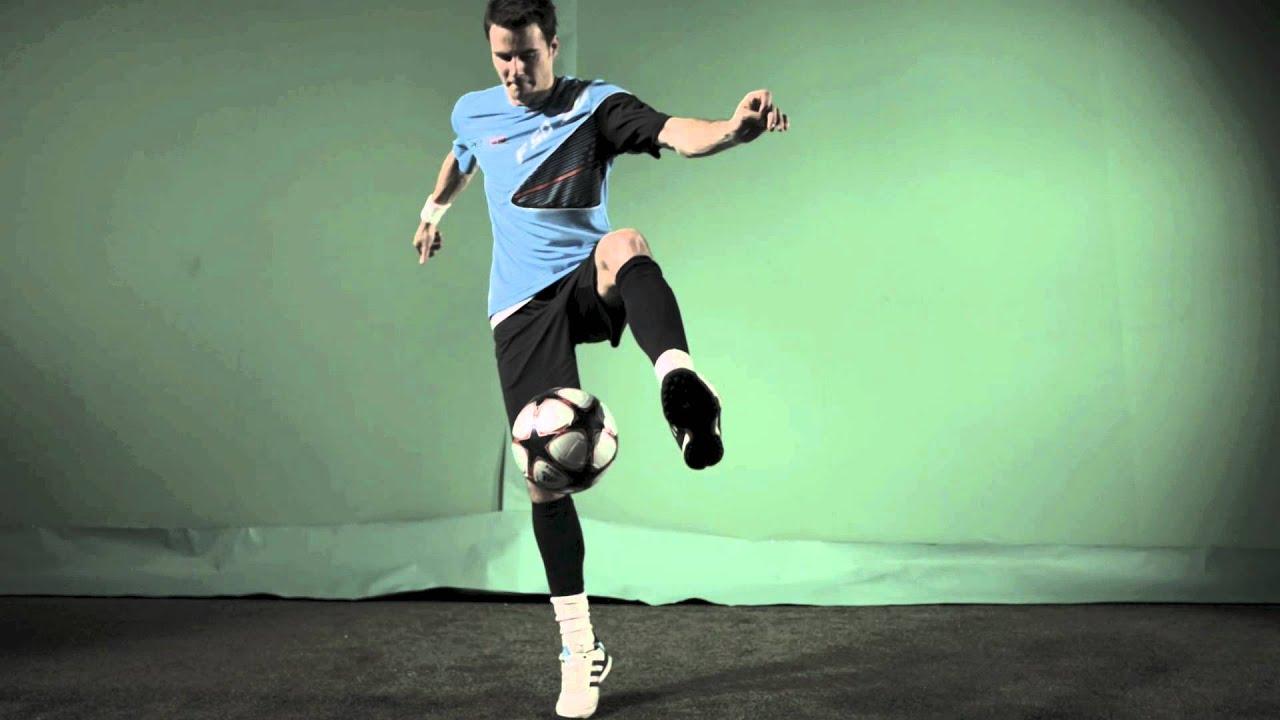 Learn 3 BASIC Freestyle Football Skills To ... - YouTube