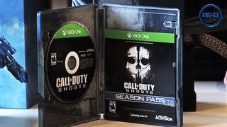 Call of Duty: Ghosts UNBOXING - Prestige & Hardened Edition! Camo DLC & 1080p Camera! (COD Ghost)