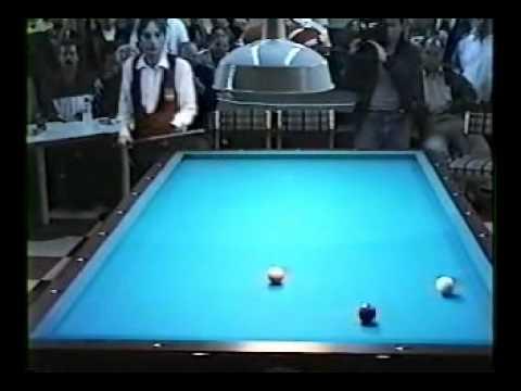 Billar A Tres Bandas. Dani Sánchez vs Jaime Bedoya. 1 de 4
