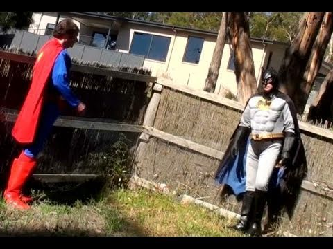 Superman Batman Diana Outtakes from the parodies