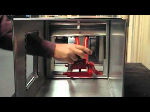 Fido Fire Damper Opener Demonstration Video Youtube
