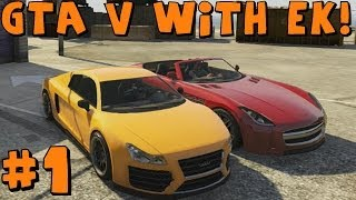 Grand Theft Auto 5 Multiplayer With EKDrifter458 Part