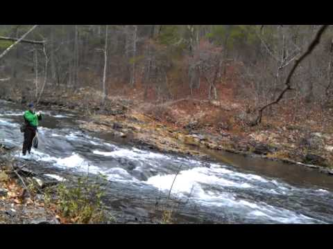 Trout fishing at broken bow oklahoma youtube for Broken bow fishing
