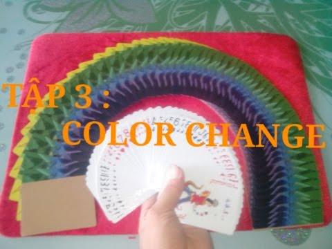 Hướng dẫn cách cua gái siêu dễ̉ với ảo thuật bài-Tập 3: Color change