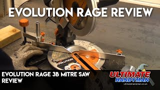 Evolution rage 3b mitre saw review