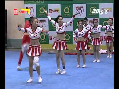 Cheerleading ĐH Kiến Trúc ĐN 25/11/2012