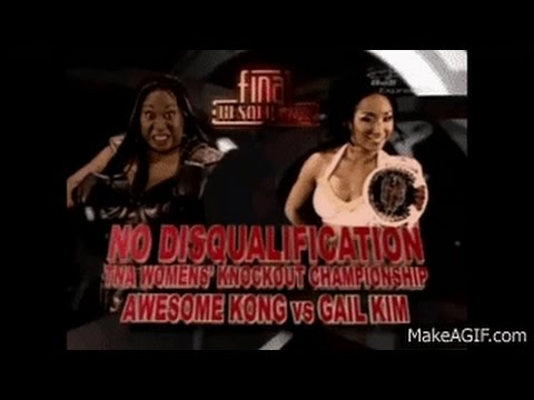 Pure Wrestling: Gail Kim VS Awesome Kong